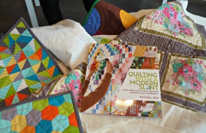 Quilts With Book
