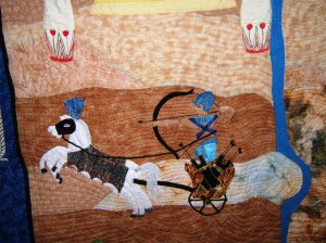 Ramses and Chariot